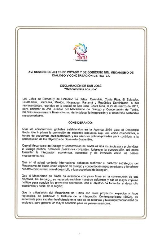 Declaración Política de San José y Resoluciones Sectoriales ( Firmada).pdf