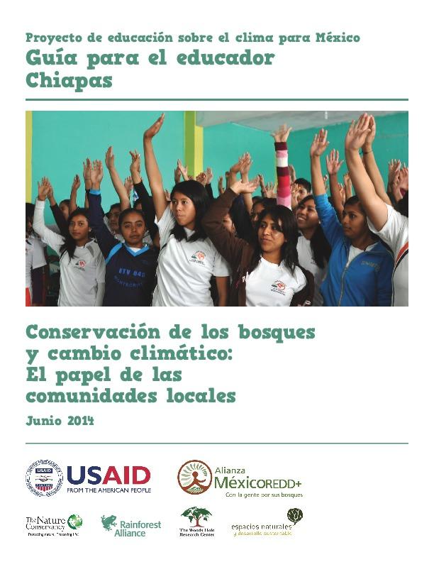 Proyecto de educación sobre el clima para México, guia para el educador Chiapas.pdf