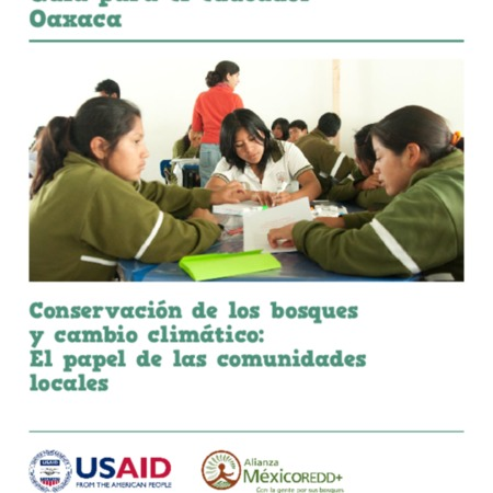 Proyecto de educación sobre el clima para México: Guía para el educador Oaxaca