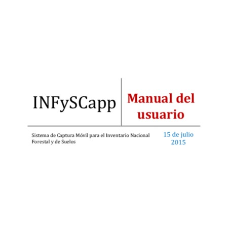 Manual del usuario INFySCapp
