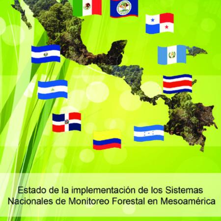 Estado de la implementación de los Sistemas Nacionales de Monitoreo Forestal en Mesoamerica