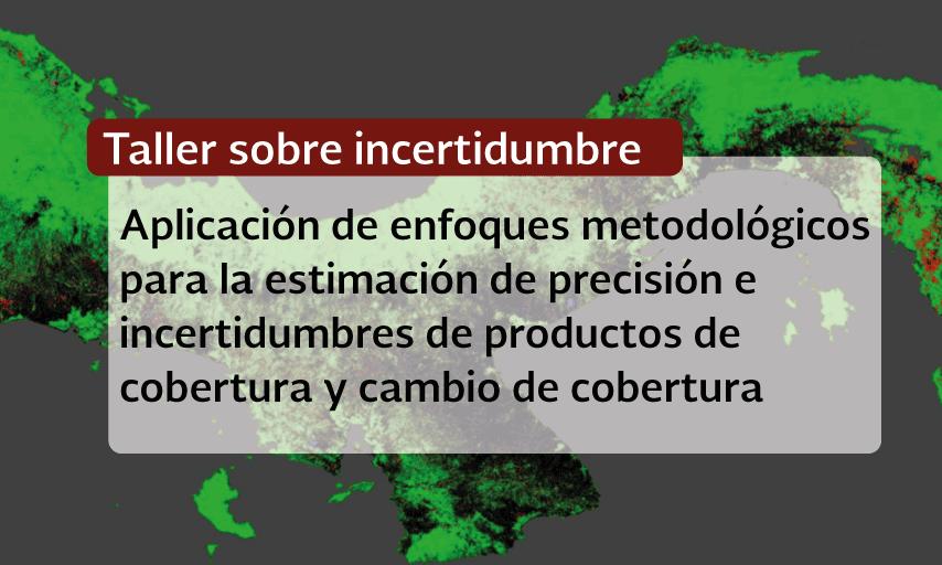 Taller Aplicación de enfoques metodológicos para la estimación de precisión e incertidumbres de productos de cobertura y cambio de cobertura.
