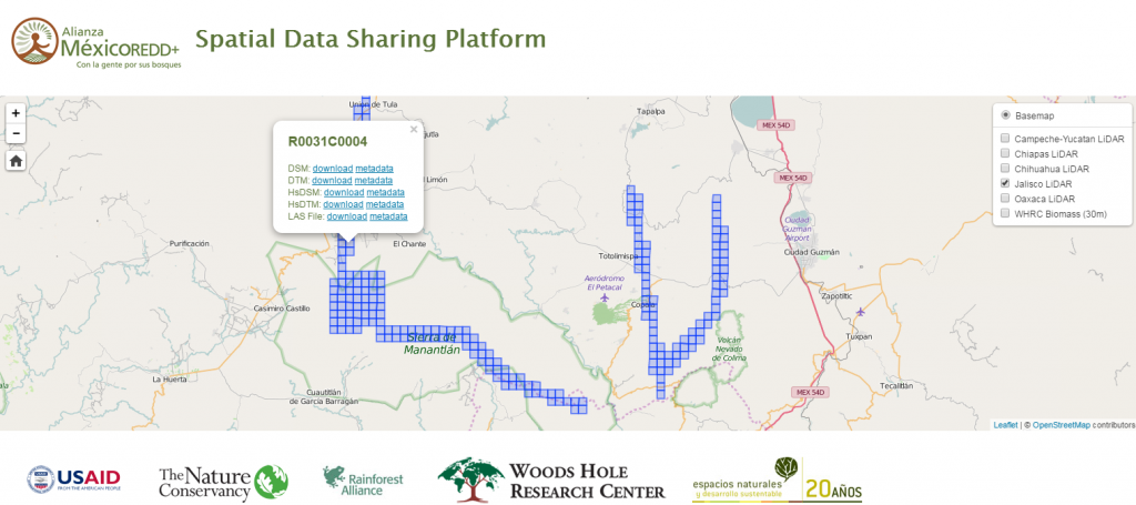 Spatial Data Sharing Platform