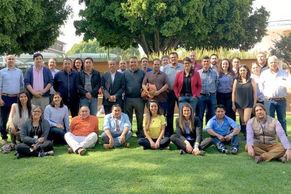 Taller de planificación y seguimiento al fortalecimiento de capacidades estatales en MRV para México