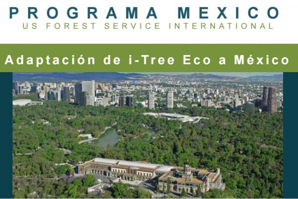 Taller de capacitación de i-Tree Eco para México