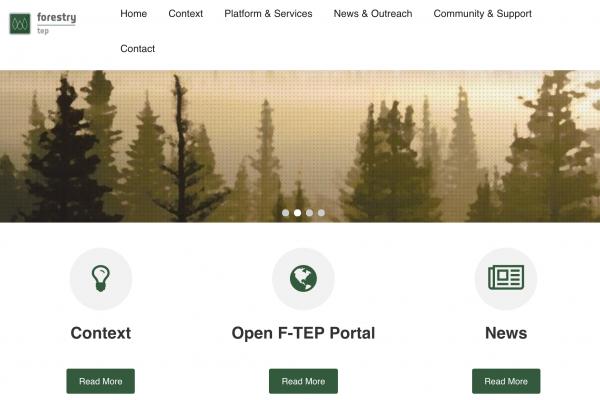 Entrenamientos en línea de Forestry TEP