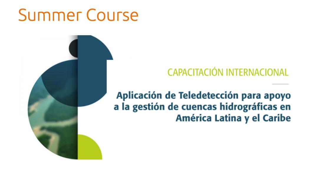 Aplicación de Teledetección para apoyo a la gestión hidrográfica en ALC