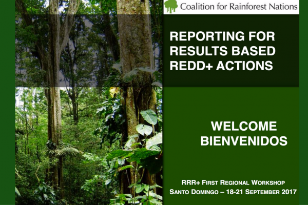 Taller sobre Reportes Basados en Resultados de REDD+